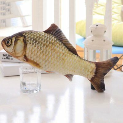 Pet Cat Play Crucian Fish Shape Mint Catnip Chewing Kids Gifts Scratch T TD