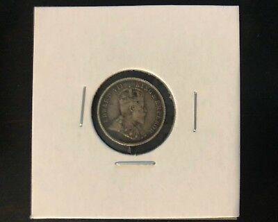 1903 British Guiana & West Indies 4 Pence XF Condition