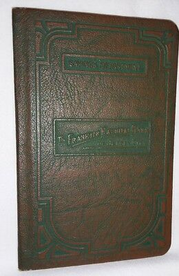 Vintage 1929-1951 Franklin National Bank of New Jersey City, NJ Deposit Book