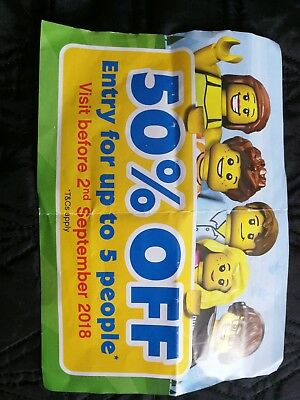 Legoland Windsor Resort Tickets / Discount Vouchers 50% OFF for up to 5 people