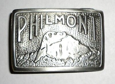Philmont Scout Ranch Vintage Style Pewter Tooth of Time Belt Buckle