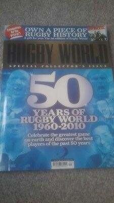 Rugby World Special Collector's Issue September 2010 50 Years Of Rugby World