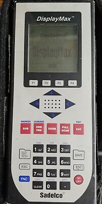 Sadelco DisplayMax 800CLI Signal Level CATV Meter 6/L28116A PARTS ONLY