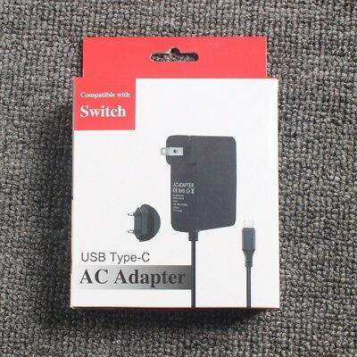 For Nintendo Switch Home Travel Charger Plug Cord AC Adapter Power Supply DG
