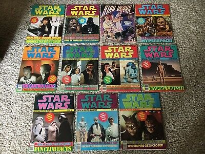 STAR WARS OFFICIAL POSTER MONTHLY Lot of 11