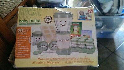Magic Bullet Baby Bullet Complete 20 piece set
