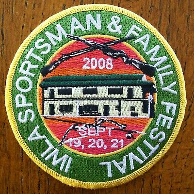 Pa Pennsylvania Game Commission  Patch 2008 Iwal Sportsman Family Festival