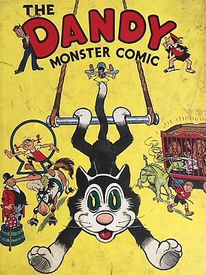 The Dandy Monster Comic, 1940, No.2.