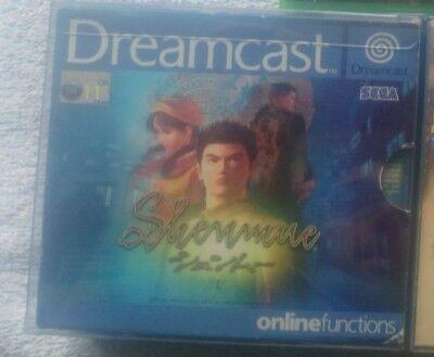 Shenmue 1 Dreamcast Complete