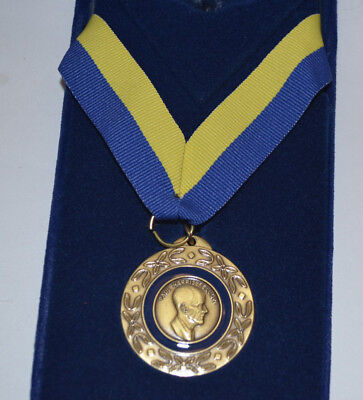 Vintage Rotary Foundation  Medal, Paul Harris Gold Fellow W/case