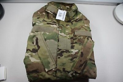 Coat Aircrew Combat MultiCam Aramid Jacket--Medium Regular