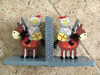 Childrens Knights And Castles Bookends