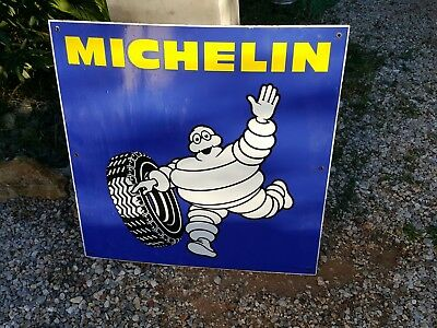 Plaque Emaillee Michelin Ancienne Vintage