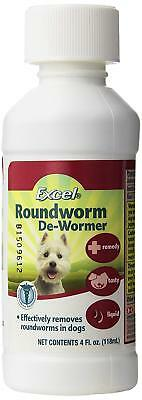 8In1 Excel Dewormer Dog Wormer De Worm 6 Week Old + 4 Oz. Free Ship In The Usa