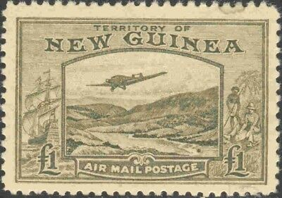 1939 New Guinea #C59 Mint Never Hinged (Tiny Water Spot) High Value Airmail
