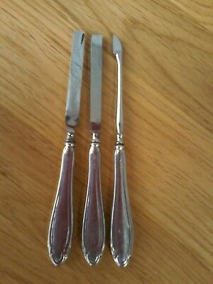 Vintage Silver Handled  Manicure Set,  Marked Birmingham 1928.