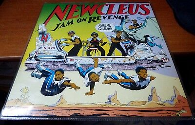 "Newcleus - ""Jam On Revenge"" (LP, 1984)"