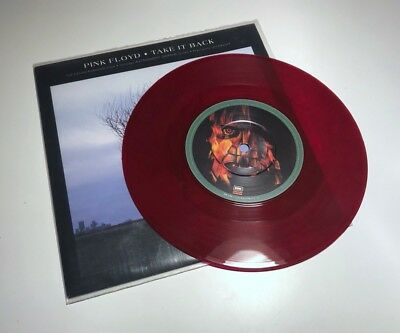 Pink Floyd - Take It Back / 7'' Single, Limited Edition Red Vinyl