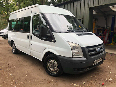 Ford Transit 2.2 Minibus Front Wheel Drive Spares Or Repair / Export