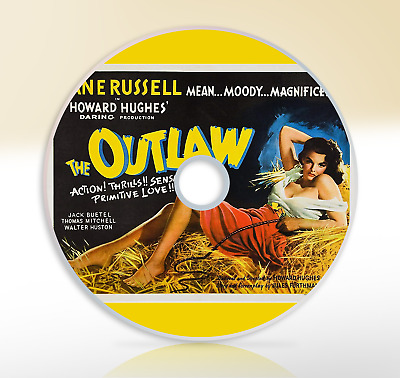The Outlaw (1943) DVD Classic Western Movie / Film Jane Russell Jack Buetel