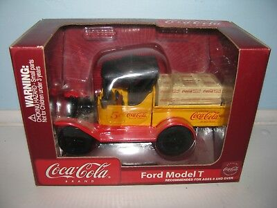 New In Box Coca-Cola Diecast Ford Model T Bank  Delivery Truck