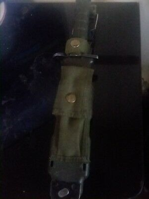 Phrobis III M9 Knife, mid condition, minor scratches