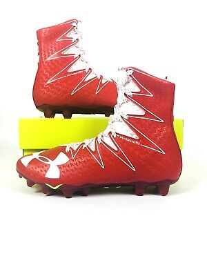 7d0fe977f Under Armour Men s UA Highlight MC Football Cleats Shoes 1269693-611  Red White