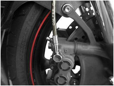 GALFER FK003D424CL-SMK Sport Bike Colored Brake and Clutch Lines