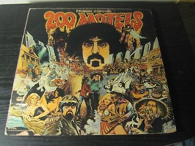 "FRANK ZAPPA ""200 Motels"" United Artists 1971 Double Lp 1"