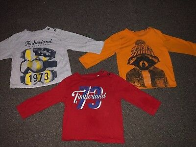 Toddler Timberland T Shirts x3 Age 2 Years