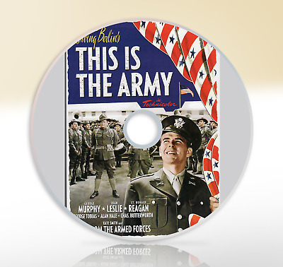 This Is The Army (1943) DVD Musical Comedy Movie Film George Murphy Joan Leslie