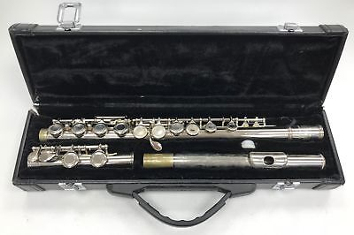 Parchment Flute with Black Carry case Included #397