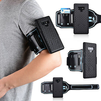 Sports Running Jogging Armband Case Belt Clip Cover For Samsung Galaxy Note 9/S9