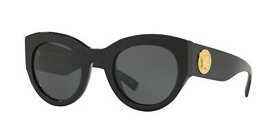 88f8c0f47ac Versace TRIBUTE COLLECTION VE 4353 Black Grey (GB1 87) Sunglasses