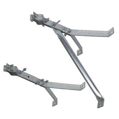 """EZ 30-18  18/"""" Stand Off Antenna Wall Mast Mount Deluxe Y Style Bracket"""