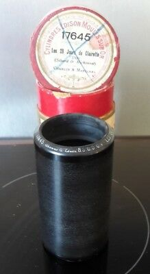 Cylindre Phonographe Ciren°17645 Record Phonograph Cylinder Gramophone N°17645