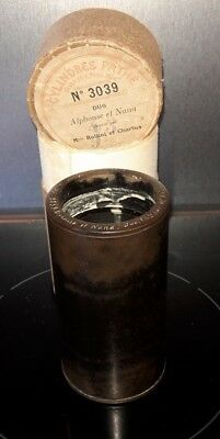 Cylindre Phonographe Ciren°3039 Record Phonograph Cylinder Gramophone N°3039