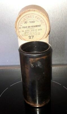 Cylindre Phonographe Ciren°700 Record Phonograph Cylinder Gramophone N°700