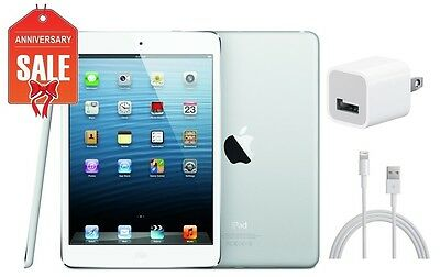 Apple iPad mini 1st Gen 32GB, Wi-Fi, 7.9in - White & Silver - B+ Condition (R-D)