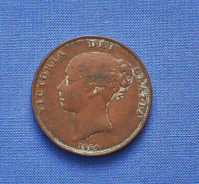 1854  Great Britain Penny. No Reserve.
