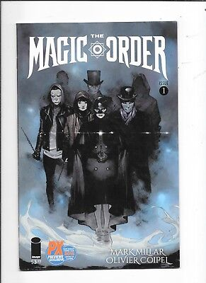 The Magic Order #1 SDCC PX Exclusive Variant Image Comics (2018)