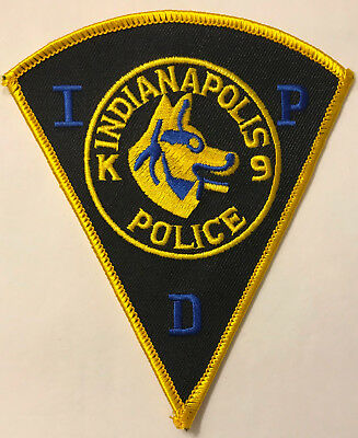 Indianapolis K9 Indiana IN Canine Police Sheriff Patch