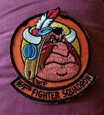 VINTAGE MILITARY PATCH 169th FIGHTER SQUADRON