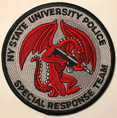 New York NY State University SWAT SRT ERT Tactical Dragon Police Sheriff Patch
