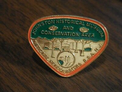 Johnston Historical Museum & Conservation Area Brass BSA Neckerchief Slide