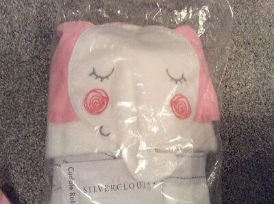 Silver Cloud Girls Cuddle Bath Time Robe Bnib Present Cute
