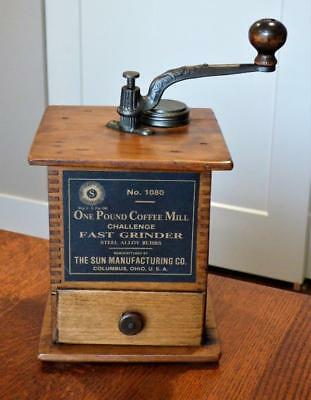 Antique Coffee Grinder - Sun Manufacturing Co. No. 1080