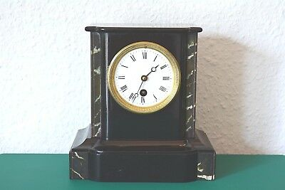 Rare Antique French mantle clock. Wooden case !!! Working order.