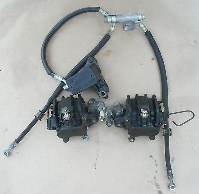 Suzuki Bandit 600 GSF600S Front Brake Calipers Master Cylinder Lines Hoses