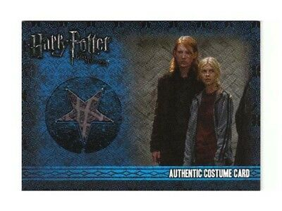 Harry Potter Costume Card Domhnall Gleeson LOW #097/530 Bill Weasley C2 DH 1